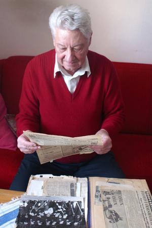 IDROTTSHISTORIA. I Stigs klippböckerna finns många spännande klipp från Skutskärsidrott från förr.