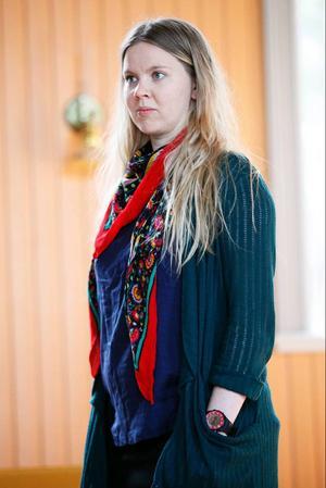 Kristina Ernehed ärproducent och arbetarmest bakom scenen.