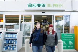 Preem i Skutskär med ägarnaJennie Edenby och Linda Hallenberg.