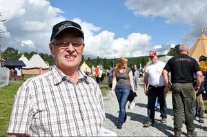 Gottfrid Jonsson, kommunalråd besökte mässan. – Ett jättebra sätt för Härjedalen att visa upp sig, säger han.
