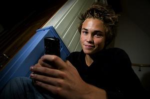 17-åriga Adam Siversen Ljung från Kvarnsveden kom tvåa i helgens sms-sm i Stockholm. Trots att han slagit ut många på vägen mot finalen är han inte nöjd med placeringen. Foto:Mikael Hellsten