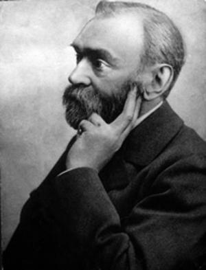 Alfred Nobel. Man.