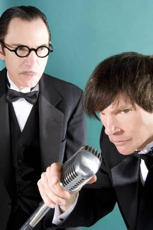 Bröderna Ron och Russel Mael har gjort sig kända för sina kreativa poplåtar. Nu har Sparks tagit ett steg till och gjort en musikal - om Ingmar Bergman. Foto: Republic Media