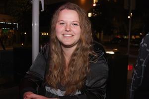 Louise Andersson- Jag känner mig ganska säker överlag, men är lite mer vaksam på vart jag går nu.
