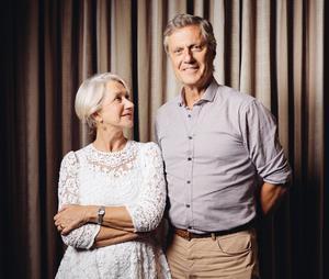 Lasse Hallström med filmens stjärna Helen Mirren.