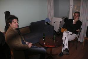 Ulf Ivarsson och Henrik Silfverhjelm från Vem Von Helst.