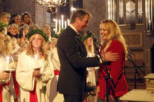 Rejält överraskad blev Céline Estassy när Anders Brink från Ljusdal Lions meddelade att hon får årets kultur- och ungdomsledarstipendium.