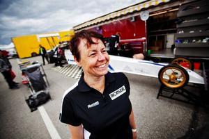 Monica Öberg är rutinerad vid det här laget.