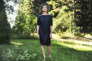 Stina Ekblad medverkar på Loses visfestival för första gången.