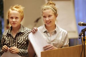 Anton Stark och Isabelle Broberg, elever på Lunds skola i Forsa, har lämnat in ett medborgarförslag som de presenterade på fullmäktigesammanträdet. De vill få möjlighet att bre sina lunchsmörgåsar med Bregott.