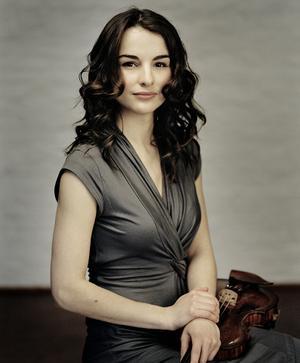 Ryska violinisten Alina Pogostikina