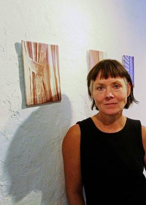 Maria Kristoffersson är en av tre utställare på Drejeriet
