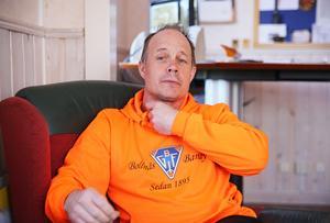 Robert Lindgren, klubbchef i Bollnäs.