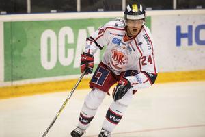 ÖRNSKÖLDSVIK 2016-10-09 Västerviks Conny Strömberg i matchen mellan MODO Hockey - Västerviks IK i Hockeyallsvenskan. Matchen spelades i Fjällräven Center. Foto: Adam Göransson