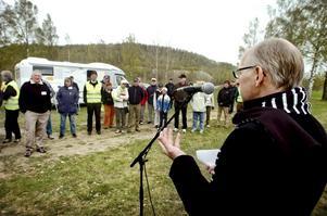 Framsynt idé. En stollig men samtidigt en fantastisk och framsynt idé sa kommunens näringslivsdirektör Thage Arvidsson när han invigde Kumla Golfklubbs husvagnscamping i Kvarntorp.