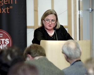 – Vi kommer att ta det i höst, säger Ann S Pihlgren (M) angående de nya pensionsreglerna.