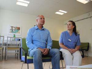 Hans Furuhed och Nina Gustafsson leder den nya viktenheten som nu bytt namn till bariatrisk mottagning .