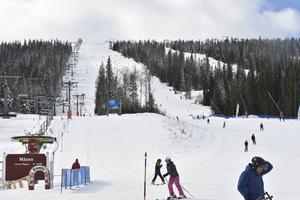 Lindvallen är platsen där den stora slalomtävlingen kommer att äga rum.