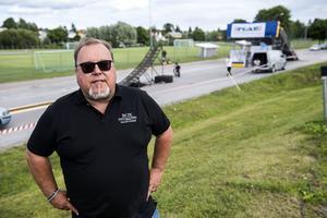 Per-Erik Eriksson hoppas på en välbesökt motorvecka. Arkivbild.