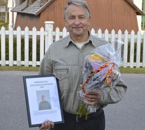 – Jag har ju hållit på länge och alltid haft Sonfjällsbygdens bästa i huvudet, säger Sune Halvarsson som fått utmärkelsen Årets Sonfjällsbygdare 2015.
