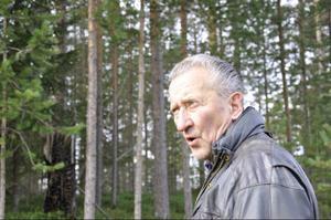 Erland Lundgren ger ett lågmält och ödmjukt intryck, men han kan ryta till: