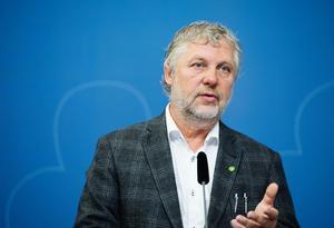 Bostadsminister Peter Eriksson (MP). Foto: Izabell Nordfjell, TT.