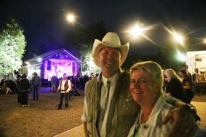 – Det är folkligt, roligt och väldigt tilltalande med countrymusik, säger Barbro Larbring-Rönngren
