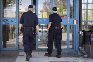 Vid Resecenter i Bollnäs har man nu en ökad polisiär närvaro.