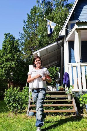 Bernt och Iris Pålsson köpte sommarstugan 1974. Familjen bor i Stockholm men är här varje sommar.