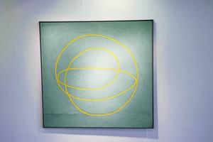 """""""Ett flöde av energi"""". Tre magnifika målningar på ett tema av Åsa Herrgård."""