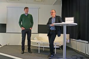 Det har gått över förväntan för producenterna K-G Ekblom och Tomas Jennebos koncept att plocka ned det populära radioprogrammet