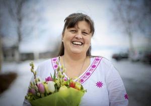 Ann-Charlotte Kristoffersson hyllas av son bonusdotter som en kvinnlig förebild.