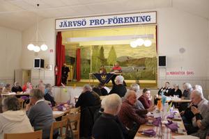 På onsdagen avgjordes den första deltävlingen i PRO-vetarna på Lörstrands bygdegård i Järvsö.