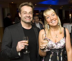 Kultur- och fritidschefen Staffan Jonsson och Anna Bohman Enmalm (S), ordförande i kultur- och fritidsnämnden.