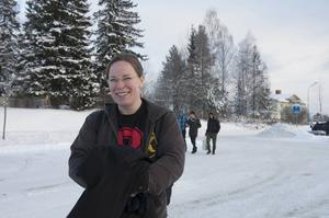 Jenny Sellén är en av de drivande krafterna bakom den ideella språkundervisningen i Ljungaverk.