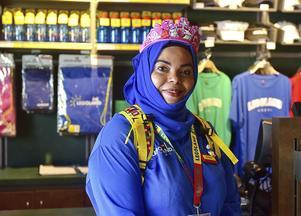 Personalen på Legoland Dubai är påtagligt vänliga och hjälpsamma.