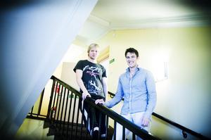 Niklas Dahrén och Dennis Malmberg tror på tydlig profilering.