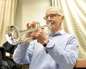 Trumpetaren Janne Nilsson.
