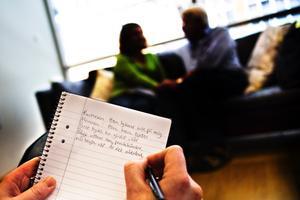 Framför allt är det gifta par och sambos som söker sig till familjerådgivningen.