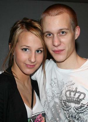 Rock&K Baren. Sara och Anders