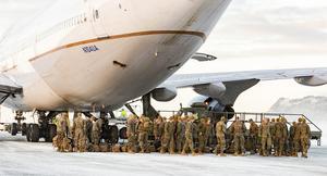 Amerikanska marinkåren har landat i Norge. Det är en kontigent ur Marines Rotational Force Europe (MRF-E) som är förlagd i Værnes garnison.
