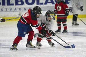 Blivande hockeystjärnor från Hudiksvall.