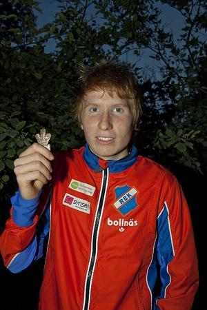 Jerker Lysell hade chansen till guldtrippel, men fick nöja sig med brons.