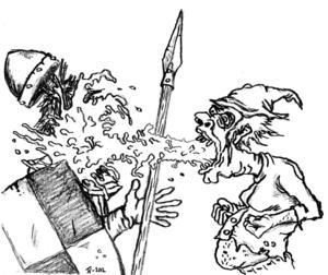 Den som drar på sig lytet Kaskadspya i LoL kan använda det som vapen.