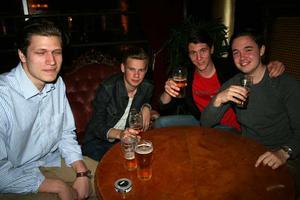 Silk. Charlie, Karl, Alexander och Simon