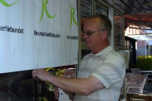 Kennet Wikholm, ordförande för reumatikerna i Västernorrland står som värd för konferensen med att 60-tal deltagare från fyra län.
