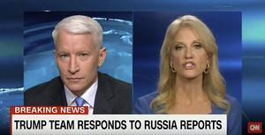 CNN var först ut med att rapporera om dokumentet - Trump har sedan dess vägrat att prata med nyhetskanalen.
