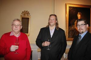 Ulf Byléhn, Magnus Hansson och Tomas Jansson var några av besökarna.