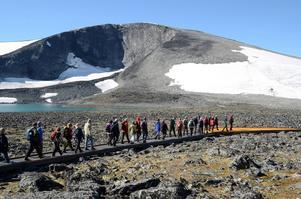 Doga i Norge delar varje år ut ett innovationspris. Klimapark på bilden fick årets hederspris i klassen landskapsarkitektur, för sitt arbete att göra det möjligt för alla att uppleva högfjällsnatur.   Foto: Norsk Design- og arkitektursenter