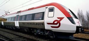 Reginatåg ska renoveras av Bombardier Transportation i Västerås.